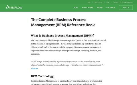 BPM | Business Process Management - The Complete Reference Book 2017