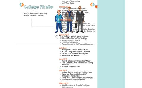 College Fit 360, College Admissions Consulting Los Angeles | Newsletters