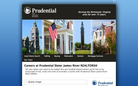 Screenshot of Jobs Page psjr.com - Career2013 | psjr.com - captured Oct. 3, 2014