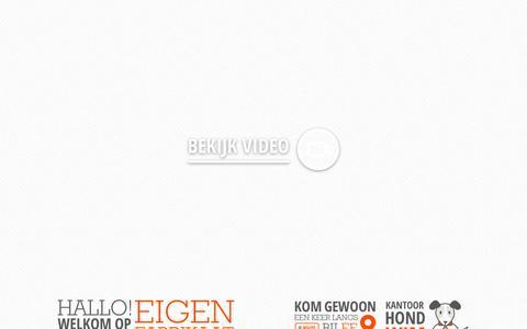 Screenshot of Contact Page eigenfabrikaat.nl - Eigen Fabrikaat   Contact - captured Sept. 29, 2014