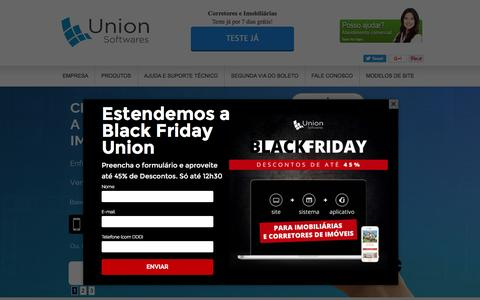 Screenshot of Home Page uso.com.br - Sistema para Imobiliária + Site para Imobiliária - captured Nov. 26, 2016