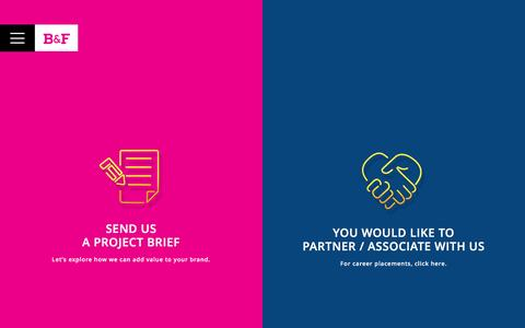 Screenshot of Contact Page bochfernsh.com - Advertising Agency in Mumbai - captured Dec. 11, 2016