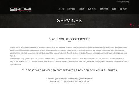 Screenshot of Services Page iwdwebsite.com - Web Development Services Cyprus | Mobile Apps Development Cyprus - captured Nov. 26, 2016