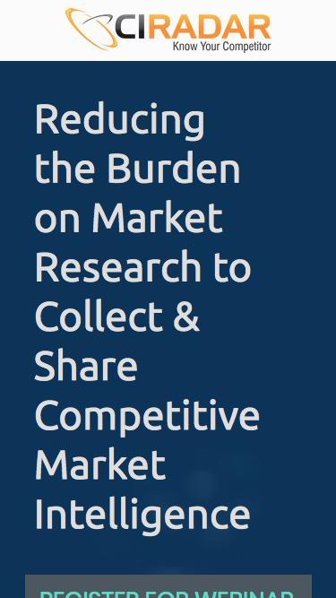 Market Research Webinar
