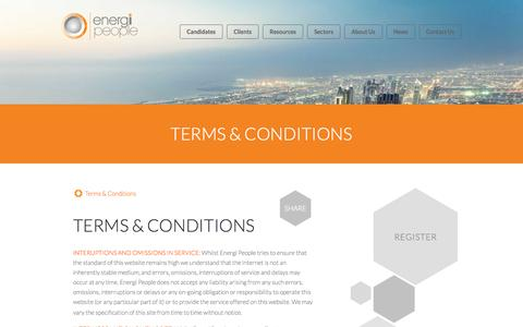 Screenshot of Terms Page energi.uk.com - Terms & Conditions - captured Oct. 2, 2014