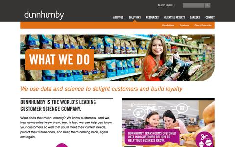dunnhumby: Delight Your Customers, Grow Your Business