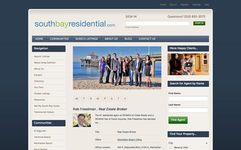Screenshot of Team Page southbayresidential.com - Our Team | South Bay Real Estate Agent | South Bay Realtor - captured Oct. 7, 2014