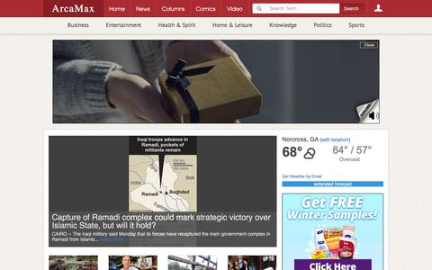 News & Entertainment by Email | ArcaMax Publishing