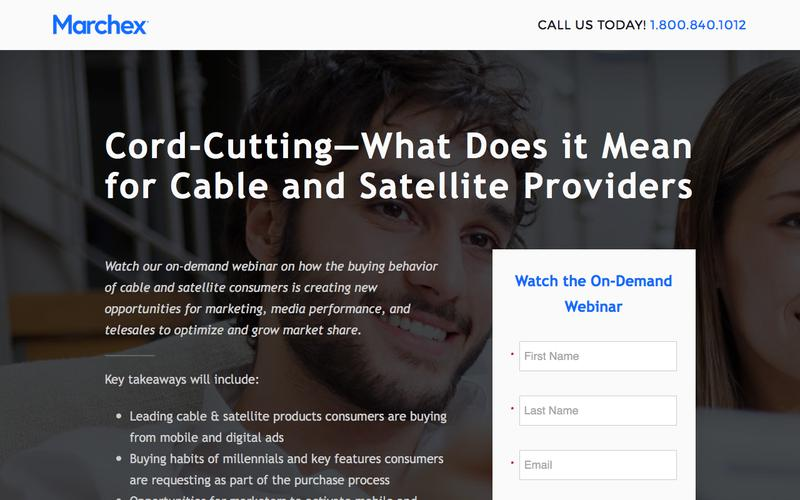 Marchex - Cord-Cutting: What Does it Mean for Cable and Satellite Providers?