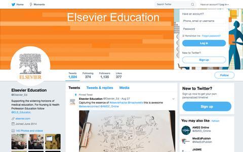 Elsevier Education (@Elsevier_Ed) | Twitter