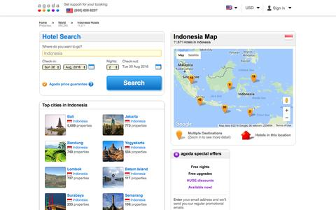 Indonesia Hotels - Online hotel reservations for Hotels in Indonesia