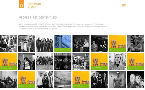 Screenshot of Team Page bateman-group.com - Us - Bateman Group - captured Oct. 29, 2014