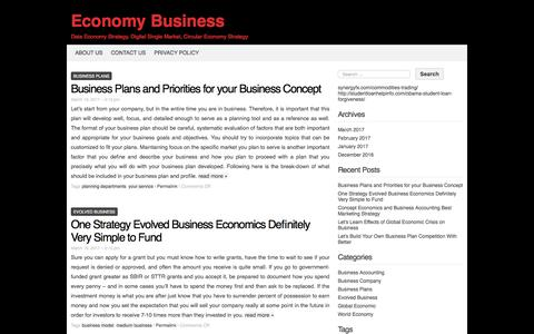 Screenshot of Home Page stonealley4wp.info - Economy Business - captured Oct. 31, 2017