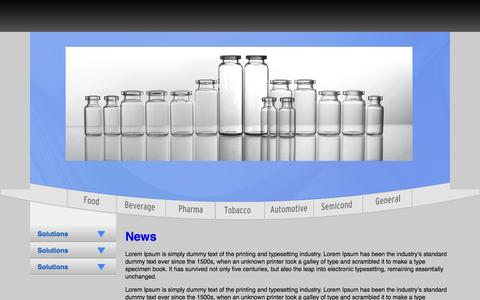 Screenshot of Press Page xepics.com - Xepics IM    » News - captured Oct. 27, 2014