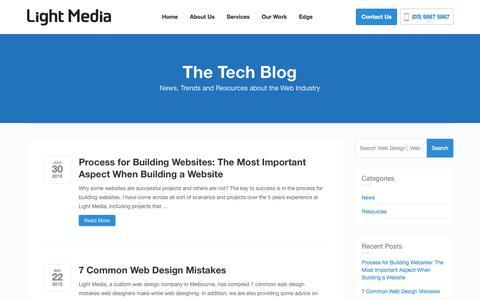 Blog - Web Design | Web Development | Light Media Melbourne