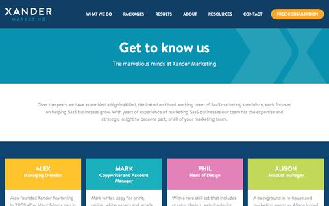 Meet The SaaS Marketing Team | Xander Marketing