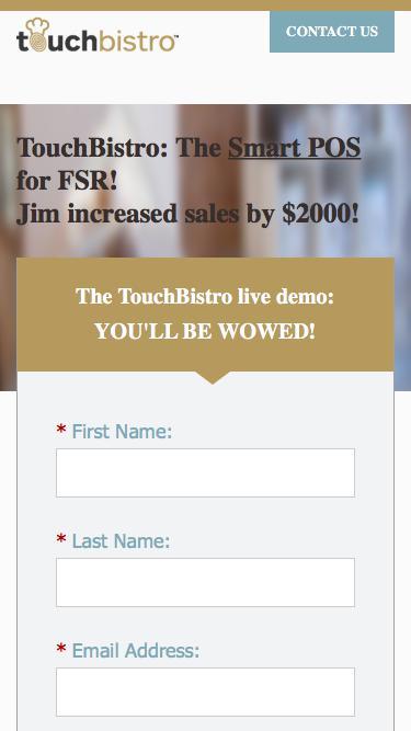 The Smart POS | TouchBistro