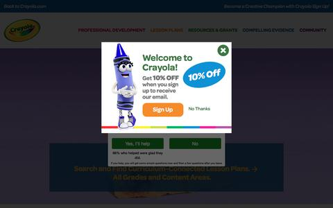 lessonplans | crayola.com