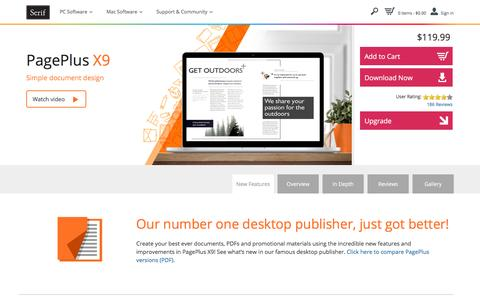 PagePlus X9 – Easy-to-use desktop publishing software