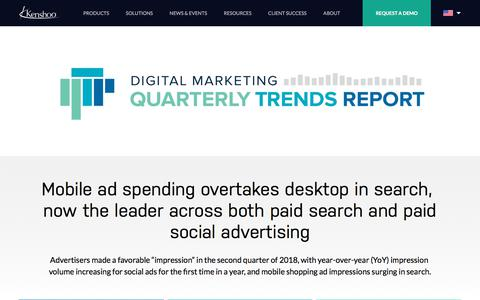 INFOGRAPHIC: Q2 2018 Digital Marketing Snapshot