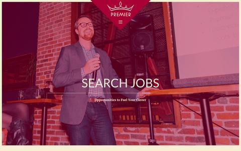 Screenshot of Jobs Page pstaffing.com - Search local jobs in San Francisco & Jobs in New York City - captured Jan. 27, 2016