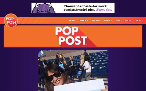 Screenshot of Blog pop-post.com - Pop-Post   Blog - captured Nov. 8, 2016