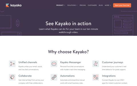 Help Desk Software and Webinars from Kayako