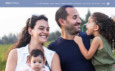 Screenshot of Home Page evapharma.com - EvaPharma - captured Oct. 14, 2015