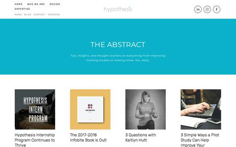 Blog — Hypothesis Group