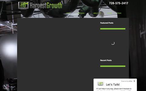 Screenshot of Blog harvestgrowth.com - Harvest Growth   DRTV & Infomercial Marketing Agency - captured Jan. 13, 2018