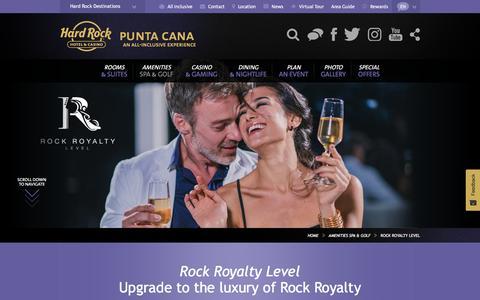 Rock Royalty Level | Hard Rock Hotel Punta Cana