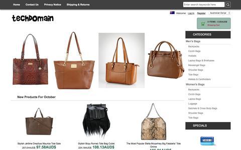 Screenshot of Home Page sergenia.com - Top Popular Designer Bags Sale At Big Discount Prices Online, Sale 100% Satisfaction - captured Oct. 19, 2017