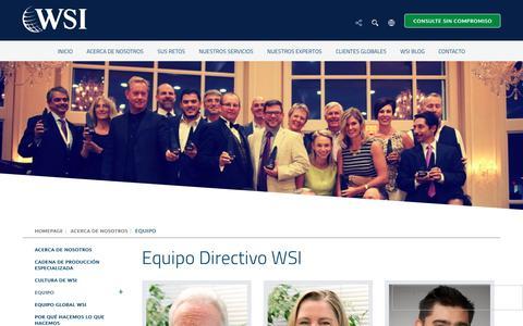 Screenshot of Team Page wsibestmarketingsolutions.com - EQUIPO - WSI Best Marketing Solutions - captured Nov. 17, 2018