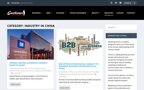 Top Information about Industry in China