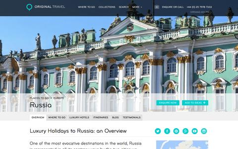 Luxury Holidays Russia | Tour Russia's Most Iconic Monuments