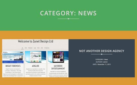 Screenshot of Press Page zanet.co.uk - Zanet | News | - captured Oct. 7, 2014