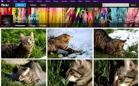 Screenshot of Flickr Page flickr.com - Flickr: Beppesan's Photostream - captured Oct. 23, 2014