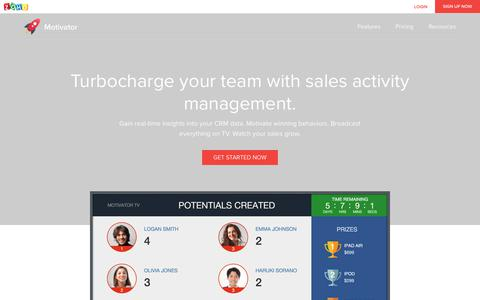 Zoho Motivator - Software to drive your sales team