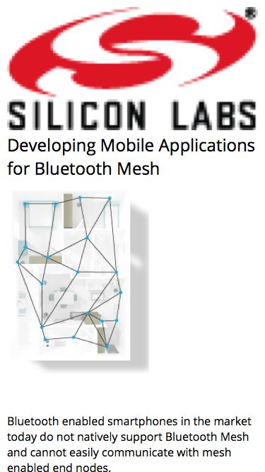 Developing Mobile Applications for Bluetooth Mesh | Silicon Labs