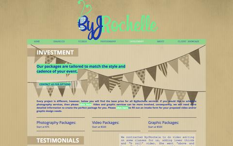 Screenshot of Testimonials Page byjrochelle.com - Investment | ByJRochelle - captured Aug. 4, 2018