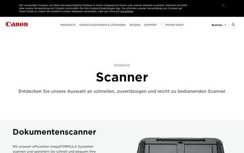 Scanner für Zuhause und das Büro - Canon Deutschland