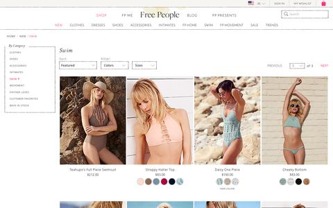 New Swim for Women at Free People | Free People