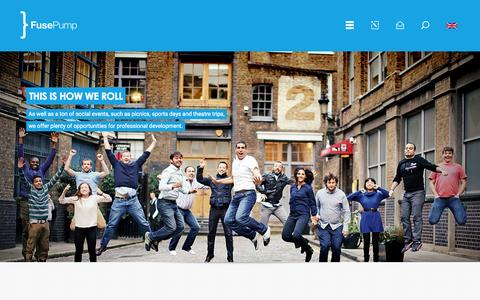 Screenshot of Jobs Page fusepump.com - FusePump - captured Oct. 2, 2015