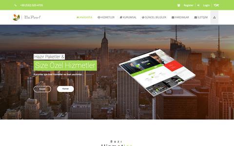 Screenshot of Home Page unpoo.com - UnPoo! Web Ajans - Dijital Web Ajans (Yazılım, SEO, Sosyal Medya) - captured Nov. 15, 2018