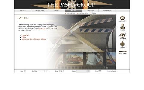 Screenshot of Press Page pashagroup.com - Media   Pasha Group - captured Dec. 22, 2016