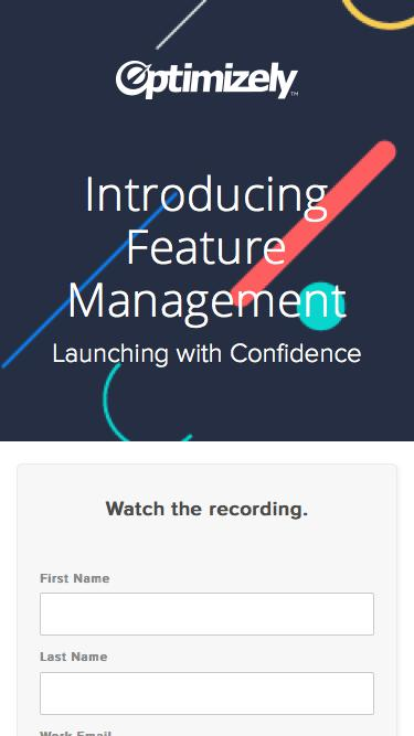 Introducing Feature Management