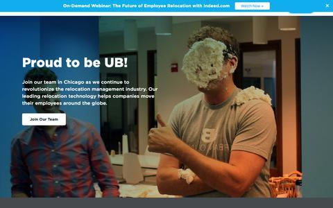 Screenshot of Jobs Page urbanbound.com - Careers - captured Dec. 7, 2018