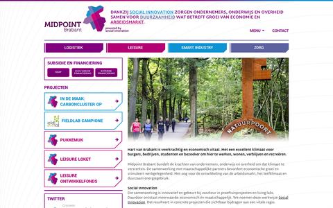 Screenshot of Home Page midpointbrabant.nl - Home | Midpoint Brabant - captured Aug. 10, 2016