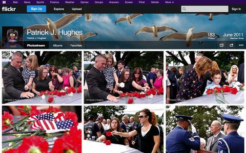 Screenshot of Flickr Page flickr.com - Flickr: Patrick J. Hughes' Photostream - captured Oct. 22, 2014