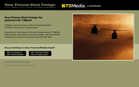 Screenshot of Home Page About Page Privacy Page Contact Page Login Page Terms Page Pricing Page Locations Page sonypicturesstockfootage.com - Sony Pictures Stock Footage – HD Aerials, Stunts, Locations, and More - captured Oct. 7, 2014